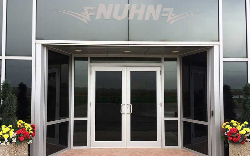 Nuhn Front Entrance