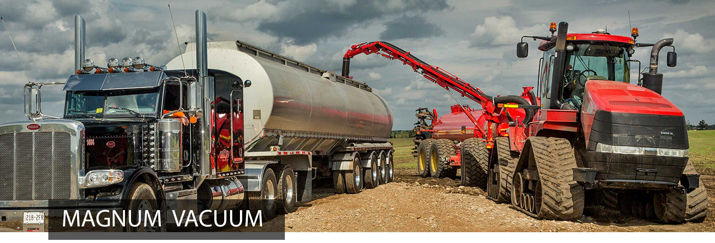 Magnum Manure Tank Unloading