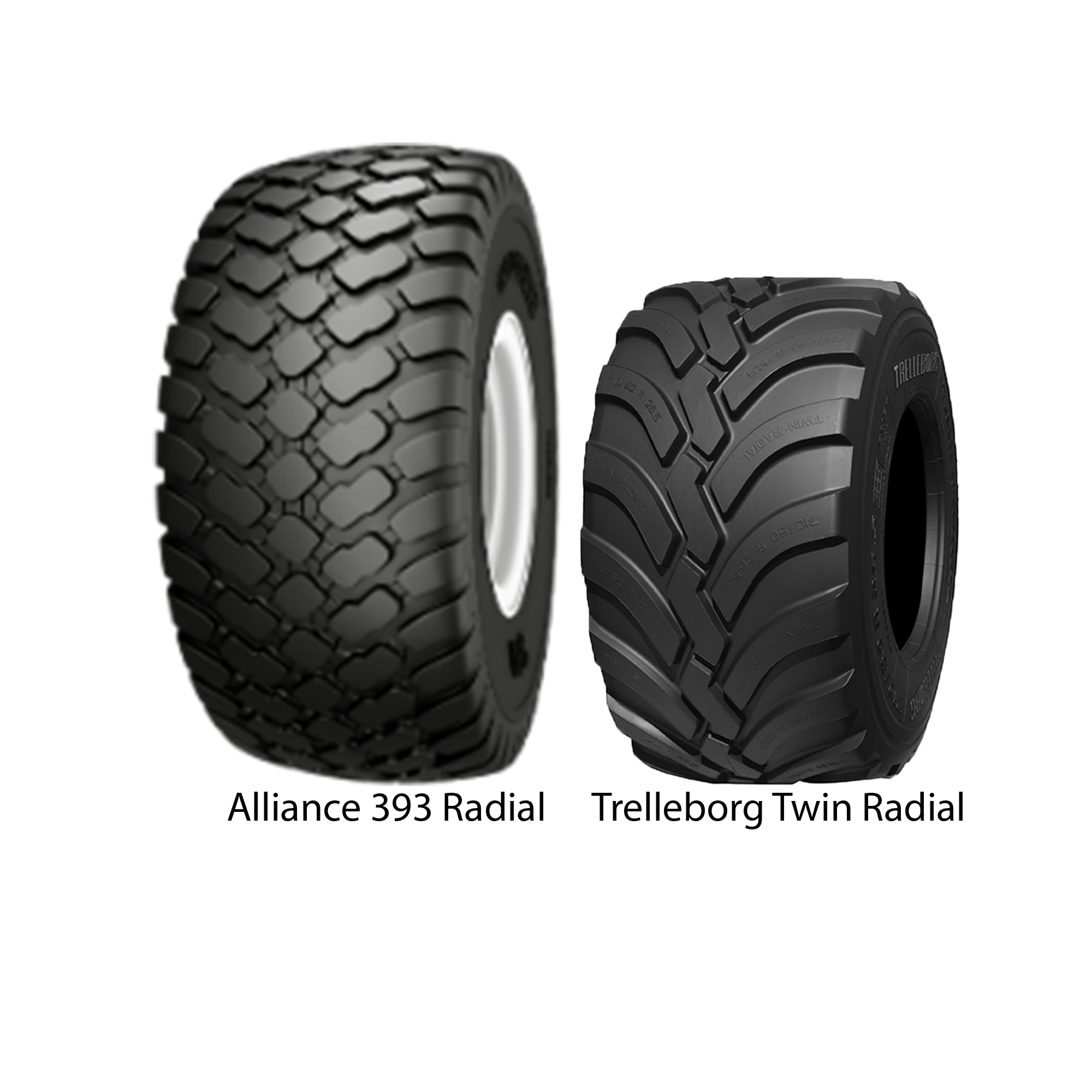 Alliance Tire and Trelleborg Tire