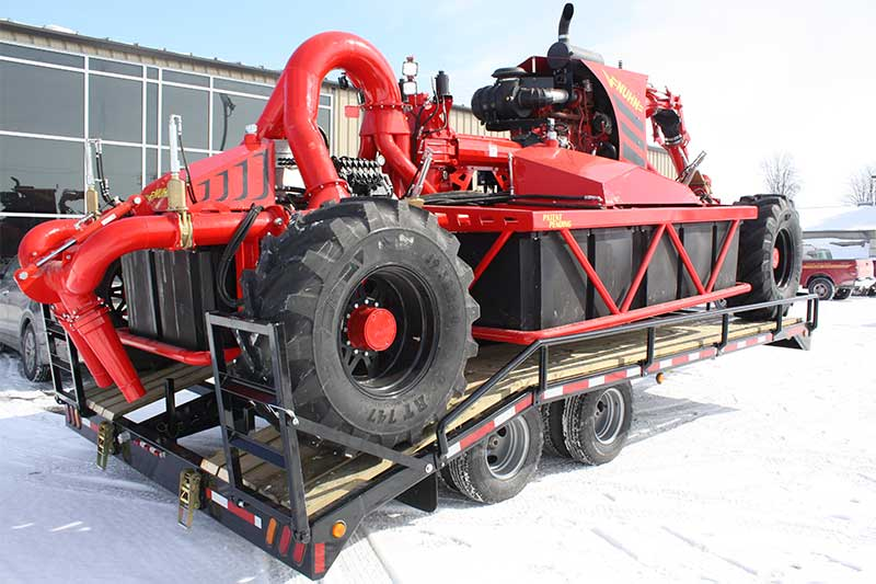 Crawler Trailer