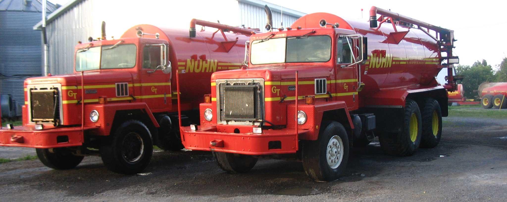 Truck Mount Tank by Nuhn Industries