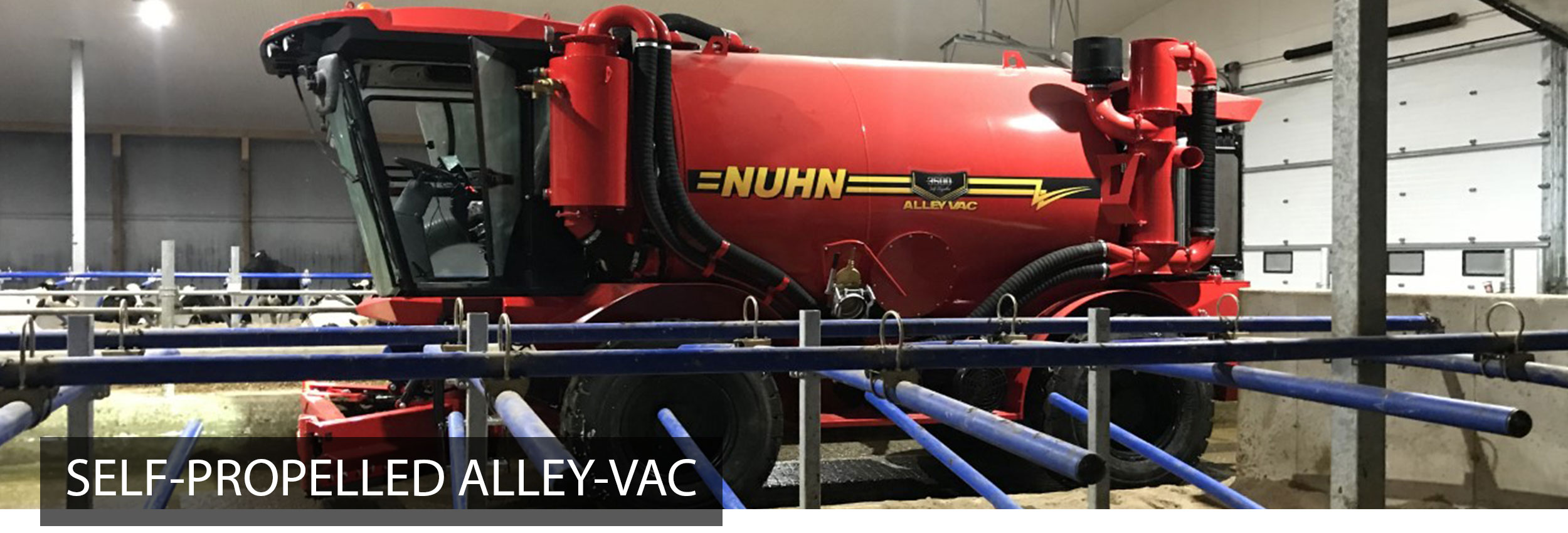 Self Propelled Alley-Vac