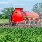 In Row Crop  manure Injector Front Page